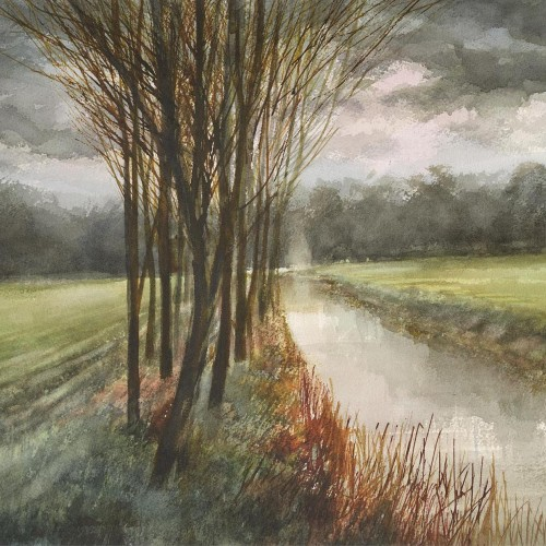 Suffolk watercolour artist