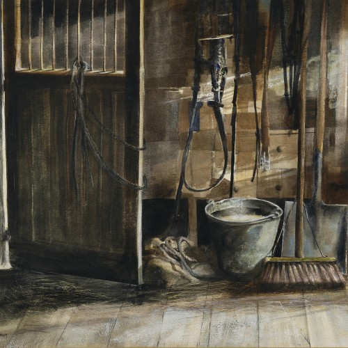 Tack room by Rupert Brown