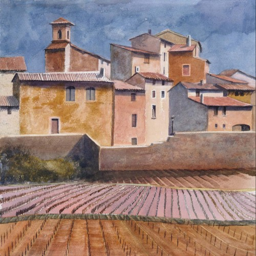 Tuscan Village by Rupert Brown